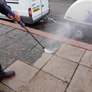 pavement pressure washing